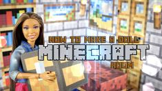 by request: Time to take MINECRAFT to the next level!!! ... XD Check out this Fun and Fabsome craft, How to Make a Doll Minecraft Room, and make your dolls t...