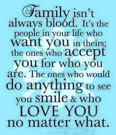 Loving and appreciating my family and friends who are like family – – to Tina my sister at heart