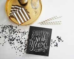 DIY - Last Minute New Years Decor | Digital Printable