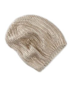 American Eagle Outfitters Metallic Knit Beanie