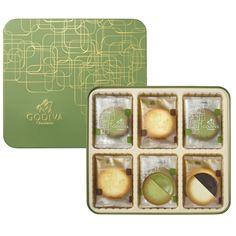 I love this! Maccha(Japanese bitter green tea) chocolate cookies@抹茶クッキーアソートメント 18枚入