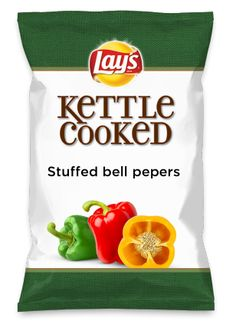 Wouldn't Stuffed bell pepers be yummy as a chip? Lay's Do Us A Flavor is back, and the search is on for the yummiest chip idea. Create one using your favorite flavors from around the country and you could win $1 million! https://www.dousaflavor.com See Rules.
