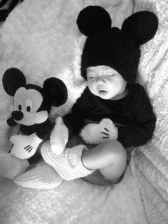 Disney baby photography Mickey Mouse