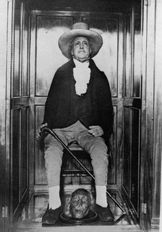 The next time your friend asks you for an annoying favor, be glad that friend isn't the late British philosopher Jeremy Bentham...whose dying wish was to be publicly dissected by friends, with his corpse carted-around to future social gatherings. Read More on Dark Matter News. #DarkMatterNews #ArtBell #MITD #DMTalk