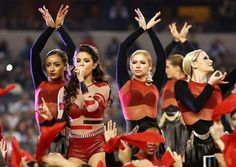 """""""Hands down my favorite performance was dancing for Selena Gomez during last year's Salvation Army Thanksgiving Halftime Show! """"- Sam"""