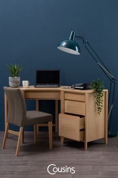 Our collection of space saving office furniture is styled with a range of exclusive desk lamps to help you visualise your dream flexible work space. Home Office, Office Desk, Office Furniture, Space Saving, Flexibility, Corner Desk, Create, Blog, Home Decor