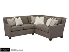Moud S Sectional Offers Plenty Of Room To Entertain Or Simply Relax It Looks Great Covered In Our Geneva Chocolate Fabric