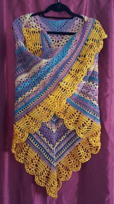 Erigeneia Shawl By Silke Terhorst - Free Crochet Pattern - (ravelry)