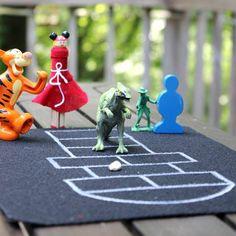 Tabletop Mini Hopscotch