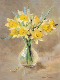 """Anne Cotterill (1933-2010), """"Wild Daffodils"""""""