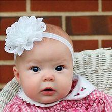 1 pçs/lote crianças da criança do bebê Headband faixa de cabelo flor Headwear meninas acessórios de cabelo(China (Mainland))