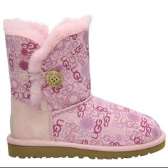 Love pink Baby Uggs, Ugg Boots, Pink, Shoes, Fashion, Ugg Slippers, Moda, Zapatos, Shoes Outlet