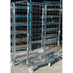 4 Sided Jumbo Roll Cages