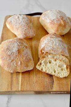 Ciabatta, Recipies, Food And Drink, Cooking Recipes, Baking, Health, Brot, Recipes, Health Care
