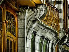 Architect Victor Horta-  Avda Louise nº 224, Brussels, Belgium
