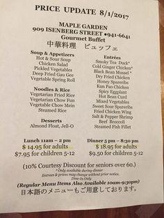 photo of maple garden honolulu hi united states buffet items prices - Maple Garden Menu