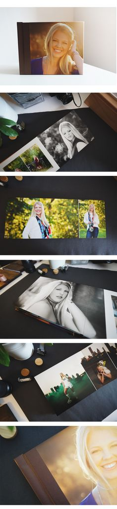 Joie Photography created such a beautiful senior album for her client!