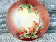 Limoges France Porcelain Serving Plate