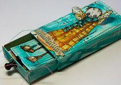 lovely arty matchbox - als kleine Geschenkverpackung oder Nachricht
