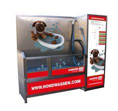 New Dog Wash design for Jumper Petshop in the Netherlands.