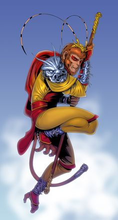 Sun Wukong by Clayman84