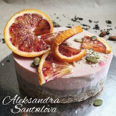 RAW orange and chocolate CAKE #cake #raw #vegan #tort #natural
