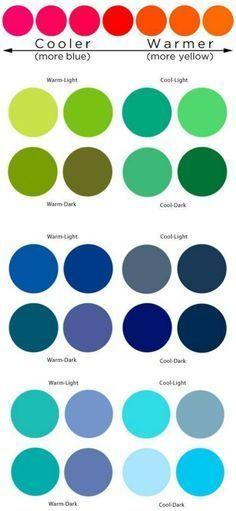 Additional-Color-Information. Warm And Cool Colors, Winter Colors, Cool Tones, Summer Colors, Fall Color Palette, Colour Pallete, Color Combos, Color Palettes, Warm Autumn