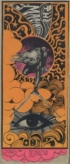 Martin Sharp tarot cards