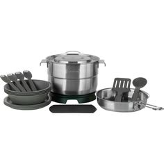 Stanley - Adventure Base Camp 19-Piece Cook Set - Stainless Steel