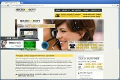 Micropcsoft.com is a dubious site which can be categorized as a browser hijacker infection and it claims that it is an independent service donor of remote tech support for