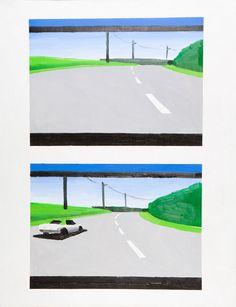 Wilhelm Sasnal, Need for Speed III, 1999