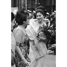 #Firstlady #Philippines  #fashion #flowers #vintage #blackandwhite #picture #travel #visit