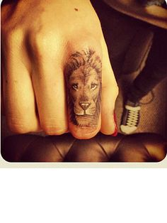 Cara Delevingne's Lion Tattoo.  I want this but much larger and on my back.  I love it!
