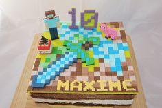 Cake Minecraft  by Christel Kiki