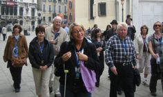 A lovely small group walking tour Rome-Florence-Venice