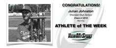 Congratulations to this week's ViewMySport ATHLETE of THE WEEK - JULIAN JOHNSTON - Baseball (Catcher & Pitcher) - Sheridan High School - Class of 2018 - (WY)... GREAT JOB JULIAN!  http://www.viewmysport.com/r-1164-julian-johnston-baseball  ViewMySport.com - Your #1 College Sports Recruiting &  Scholarship Networking Resource!