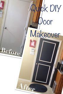 Cupcakes and Curls - DIY Door Makeover