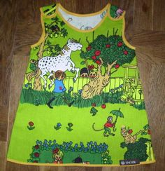 Retro dress Pippi Longstocking