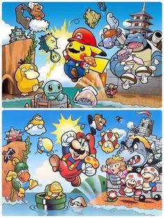 Pokémon x Mario