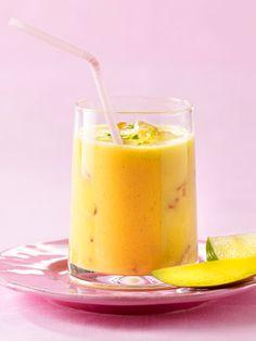 Köstliche Vitamine zum Trinken: Mango-Smoothie