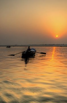 River Ganges Sunrise, Varanasi, India