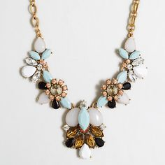 J. Crew Factory Centerpiece #Necklace by #JCrew