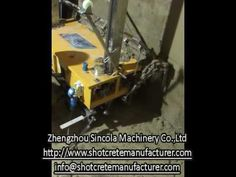 Auto Render Plastering Machine for Wall