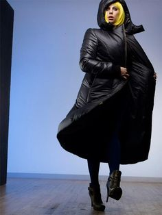 Vaute Couture is a vegan coat company. This is their down alternative snow coat, you can pre-order it now for a big discount. If you live in nyc or a similar cold climate, you need a coat like this to survive. My coat which my mom gave me and I've had for years is down and I'm looking to replace it.  #vegan down coat