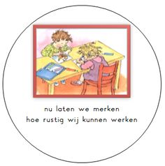 Kleuterjuf in een kleuterklas: Regels in de klas | Dagmar Stam Primary School, Pre School, I Love School, Social Skills, Worksheets, Classroom, Teaching, Education, Kids