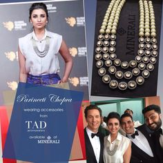 Parineeti Chopra spotted in wearing some gorgeous accessories by TAD. Buy the same at Minerali. #minerali_store #parineetichopra #accessories #tadaccessories #jewellery #neckpiece #fashion #linkingroad #bandra #minerali
