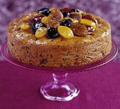 Gingered Rich Fruit Cake  This traditional cake has been jazzed up with lots of ginger - you'd never know it's gluten-free and dairy-free. Perfect for weddings and Christmas