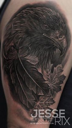 Jesse Rix - Golden Eagle Tattoo