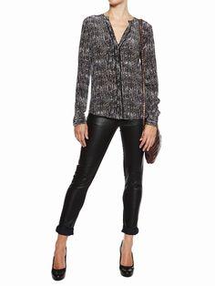 Berenice mode femme chemise imprimee