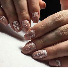 Classy style of nails Coffin Nails Ombre, Glitter Nails, Acrylic Nails, Acrylics, Henna Nail Art, Henna Nails, Mandala Nails, Nails 2018, Funky Nails
